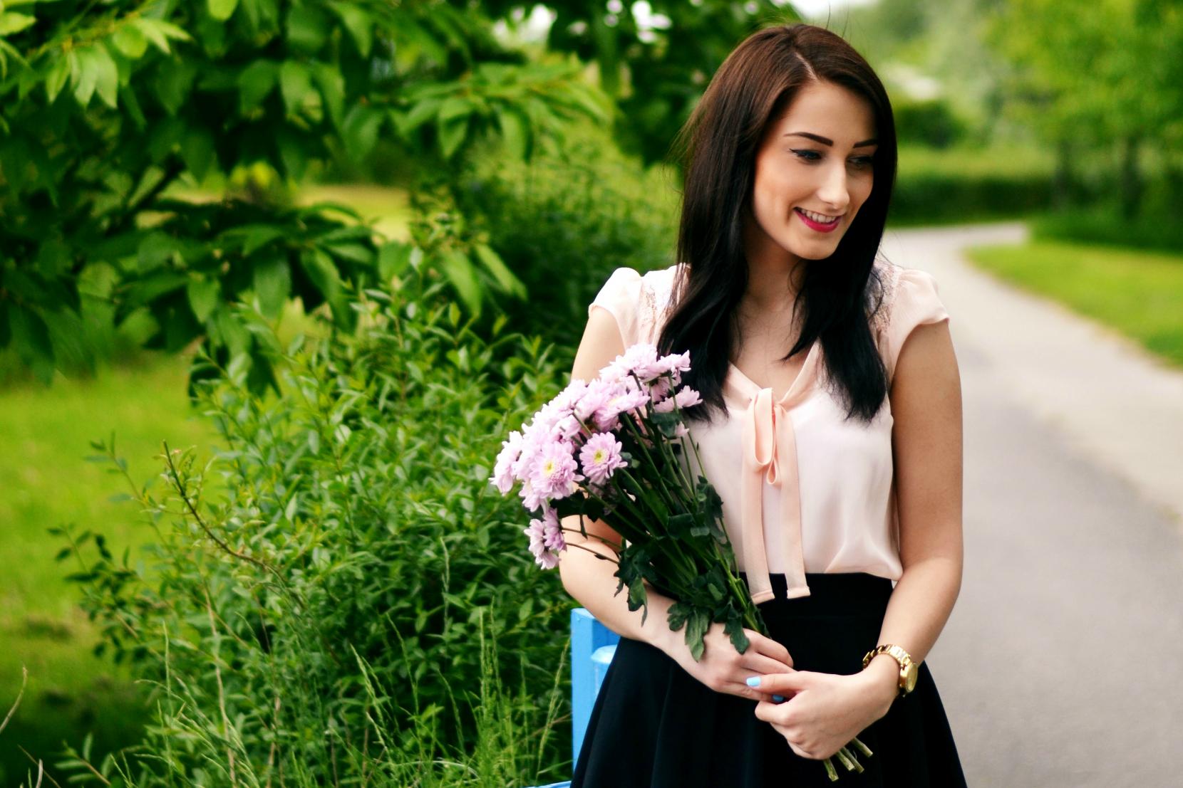 Outfit: Blumenmädchen