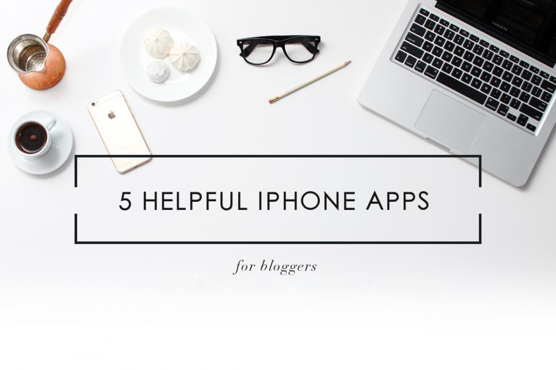 Iphone Apps für Blogger
