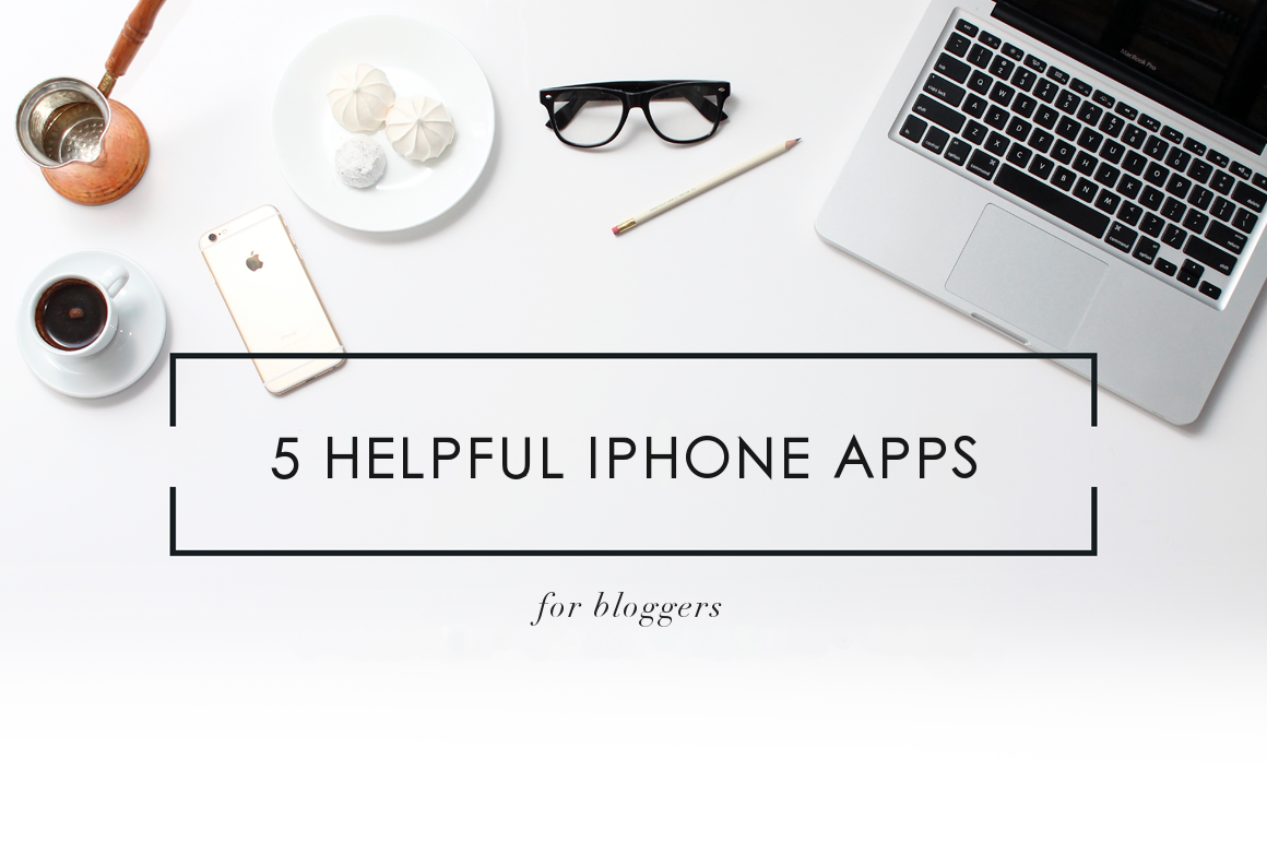 5 Helpful iPhone Apps for Bloggers