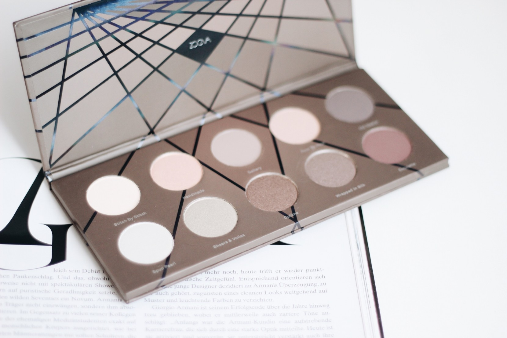 Zoeva En Taupe Palette Review + Swatches