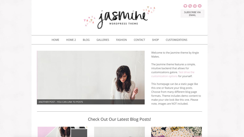 Jasmine WordPress Theme