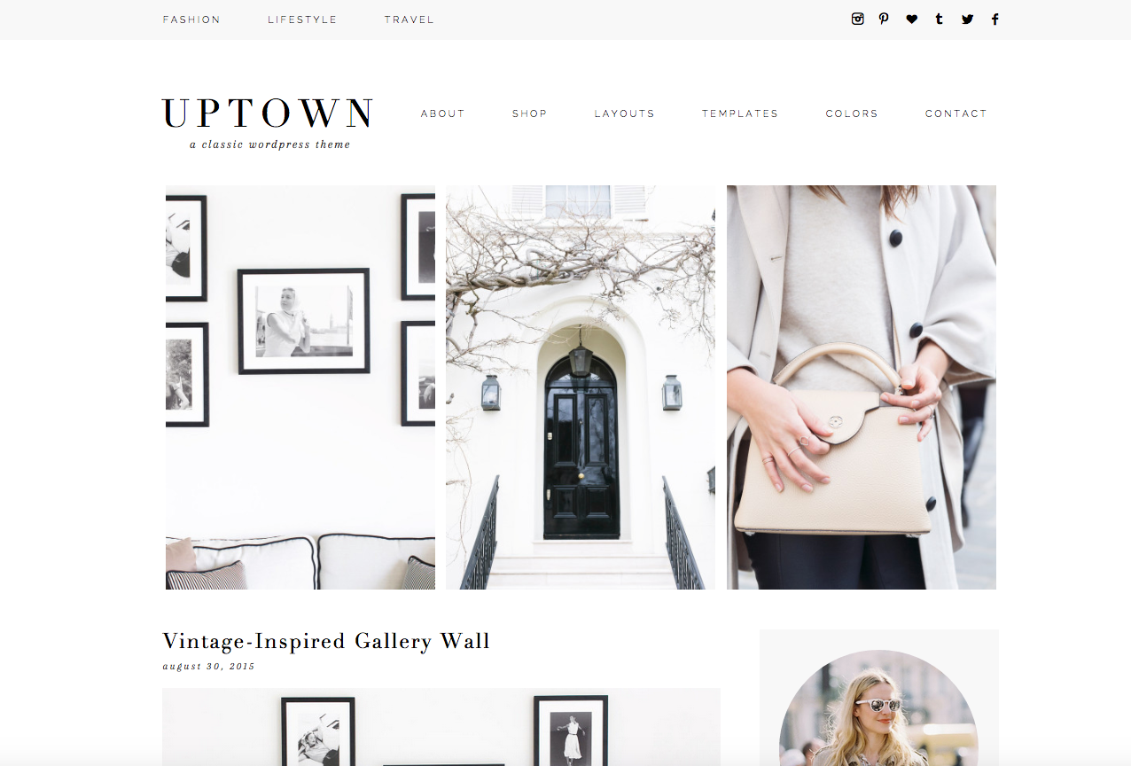 Uptown WordPress Theme