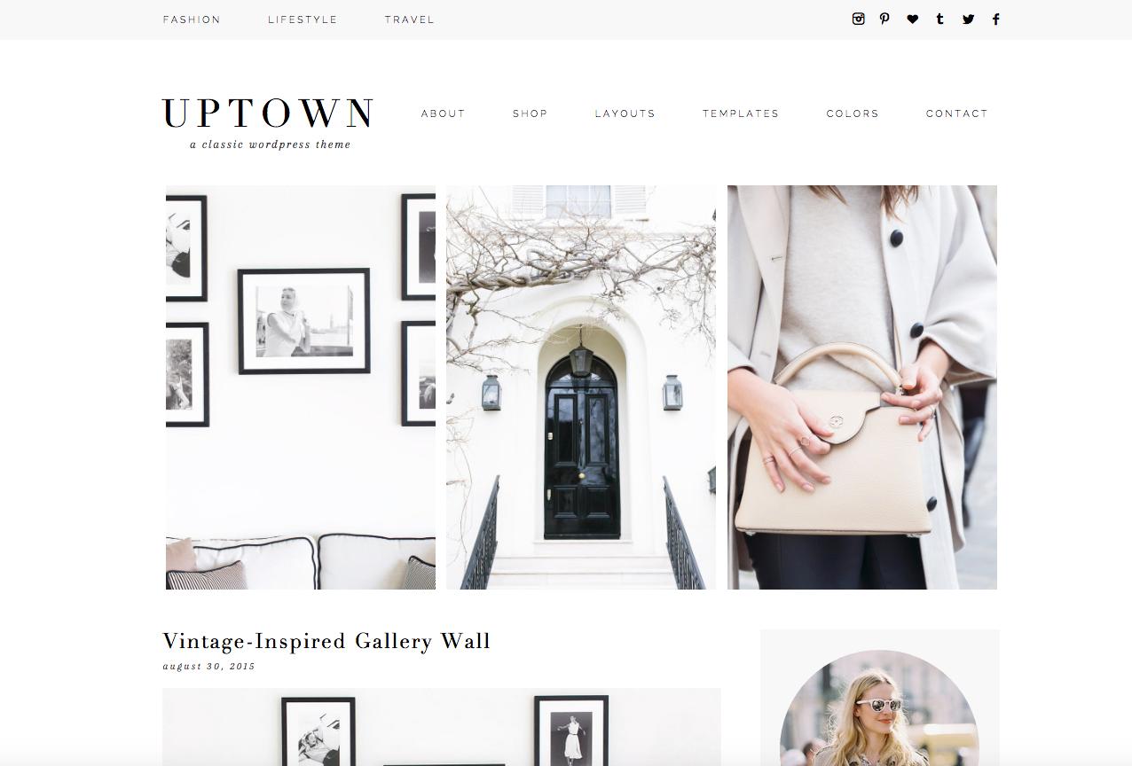 Uptown WordPress Theme