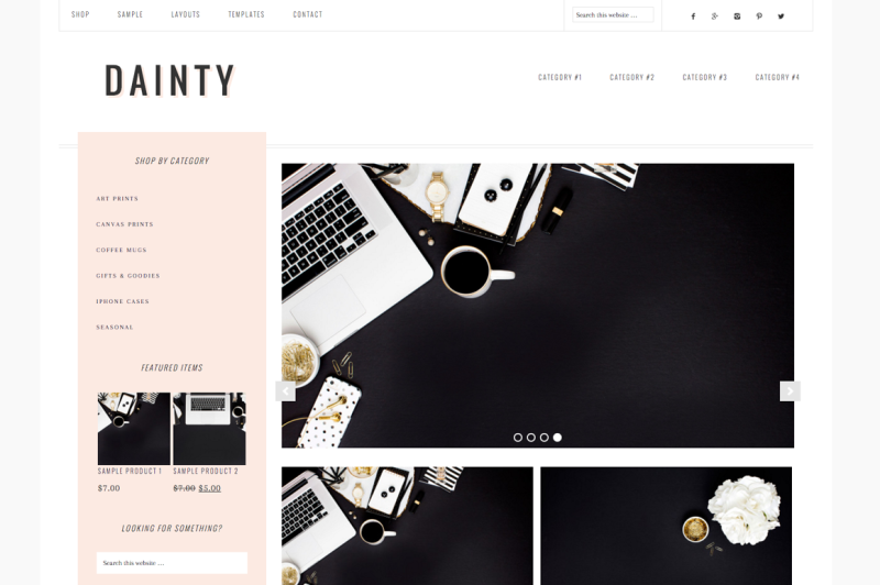 Dainty WordPress Themes