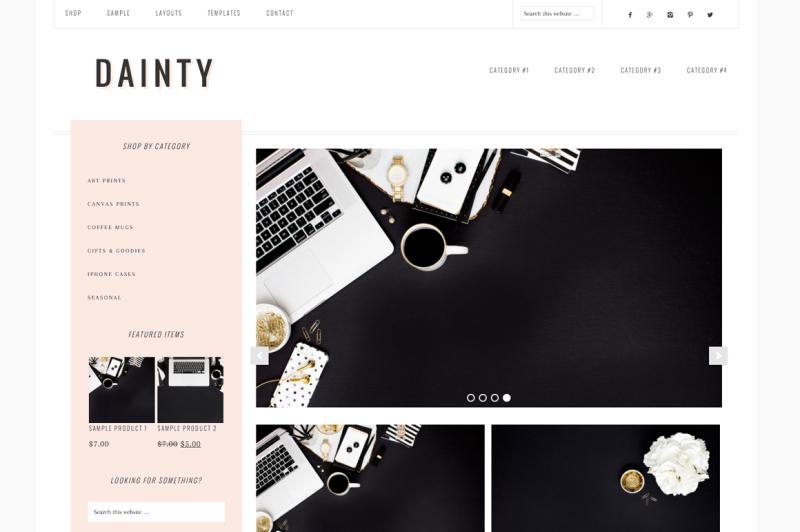 Dainty WordPress Themes